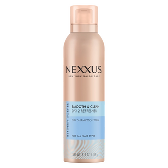 Front of Pack Nexxus Shampoo/Conditioner Smooth+Clean Foam 6.8 FO