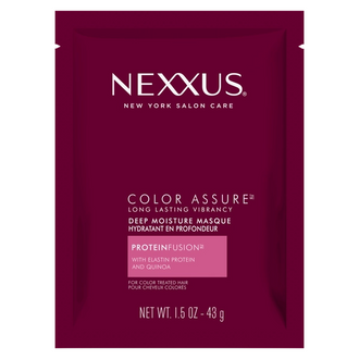 Front of Pack Nexxuss Color Assure Long Lasting Vibrancy Deep Moisture Mask 1.5oz