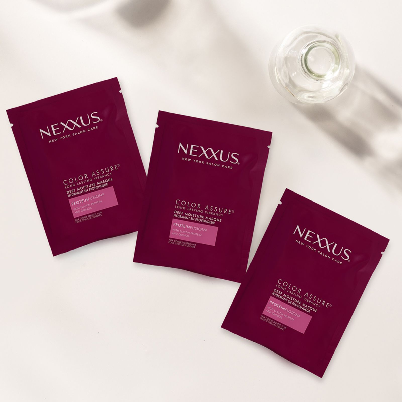 Nexxus Color Assure Long Lasting Vibrancy Deep Moisture Hair Mask Product Shot