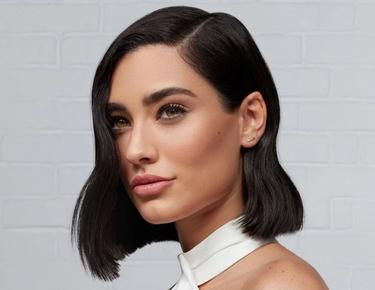 model image with short hair