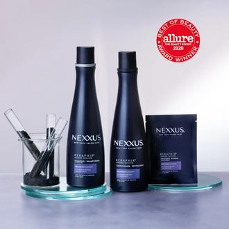 keraphix keratin hair shampoo, keratin conditioner product shot, keratin protein shampoo, nexxus protein shampoo, nexxus proteinfusion shampoo