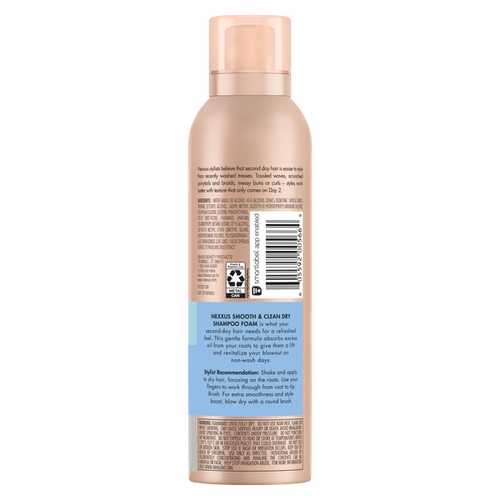 Nexxus Between Washes Dry Shampoo Foam Nexxus Us