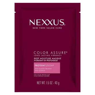 Front of Pack Nexxuss Color Assure Long Lasting Vibrancy Deep Moisture Mask 1.5oz