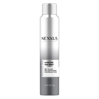 nexxus weightless style ulta-fine hair spray, front of pack