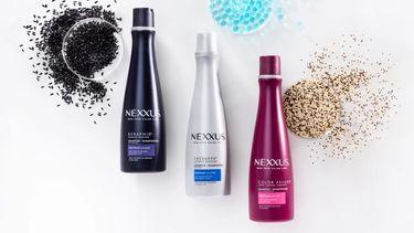 Nexxus shampoo bottles