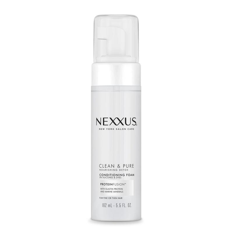 Nexxus Clean & Pure Conditioning Foam for Hair Detox - Full-size image