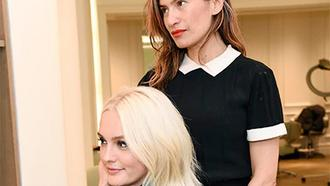 Leighton Meester Is Now Platinum Blonde — & No, It's Not A Wig