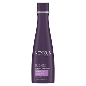 Front of Pack Nexxus Shampoo Frizz Defy Active Frizz 13.5 FO