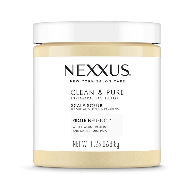 Nexxus Shampoo Clean and Pure Exfoliating Scalp Scrub - Full-size image