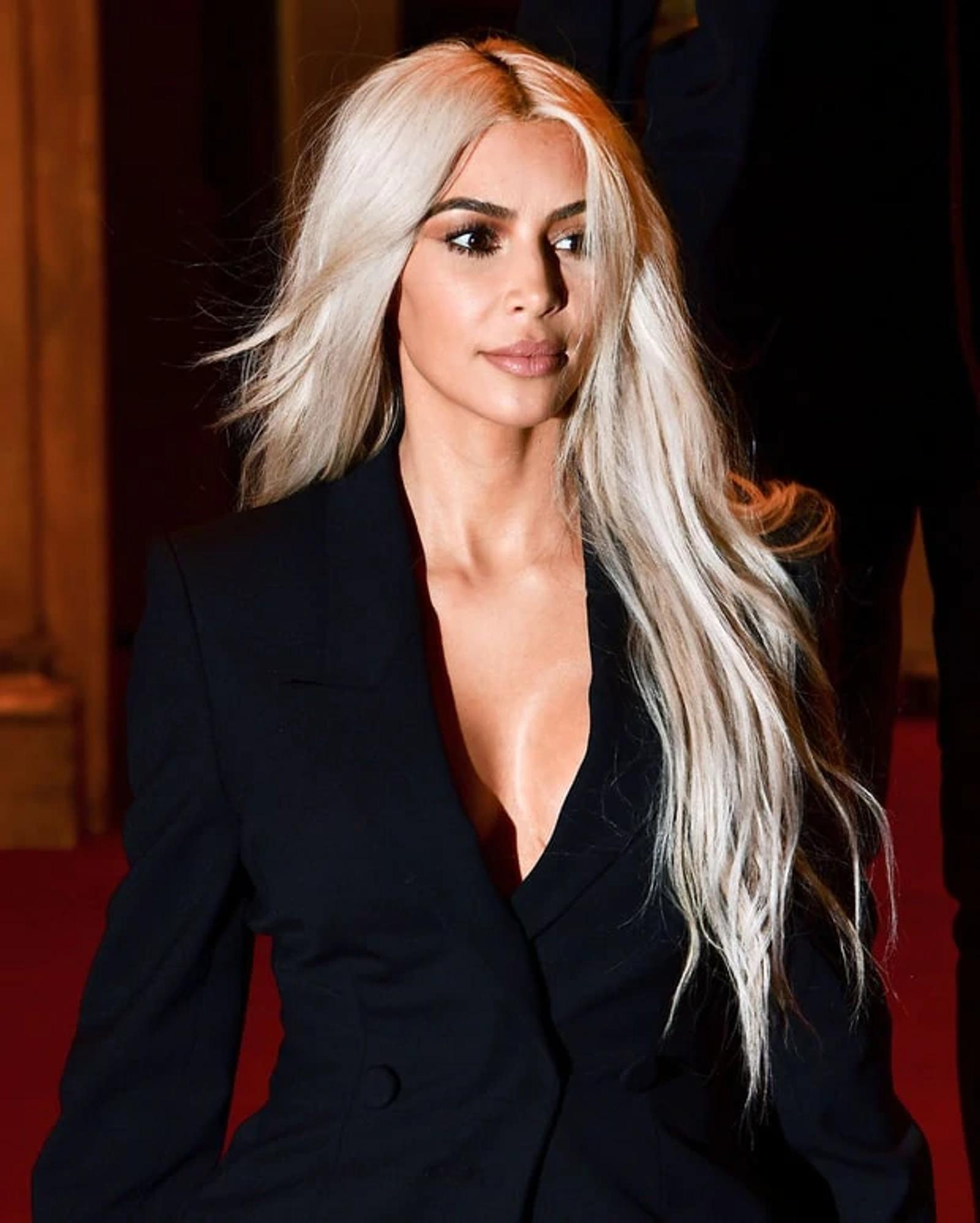 Kim Kardashian's Platinum Hair Maintenance Secret is Super Affordable -  Nexxus US