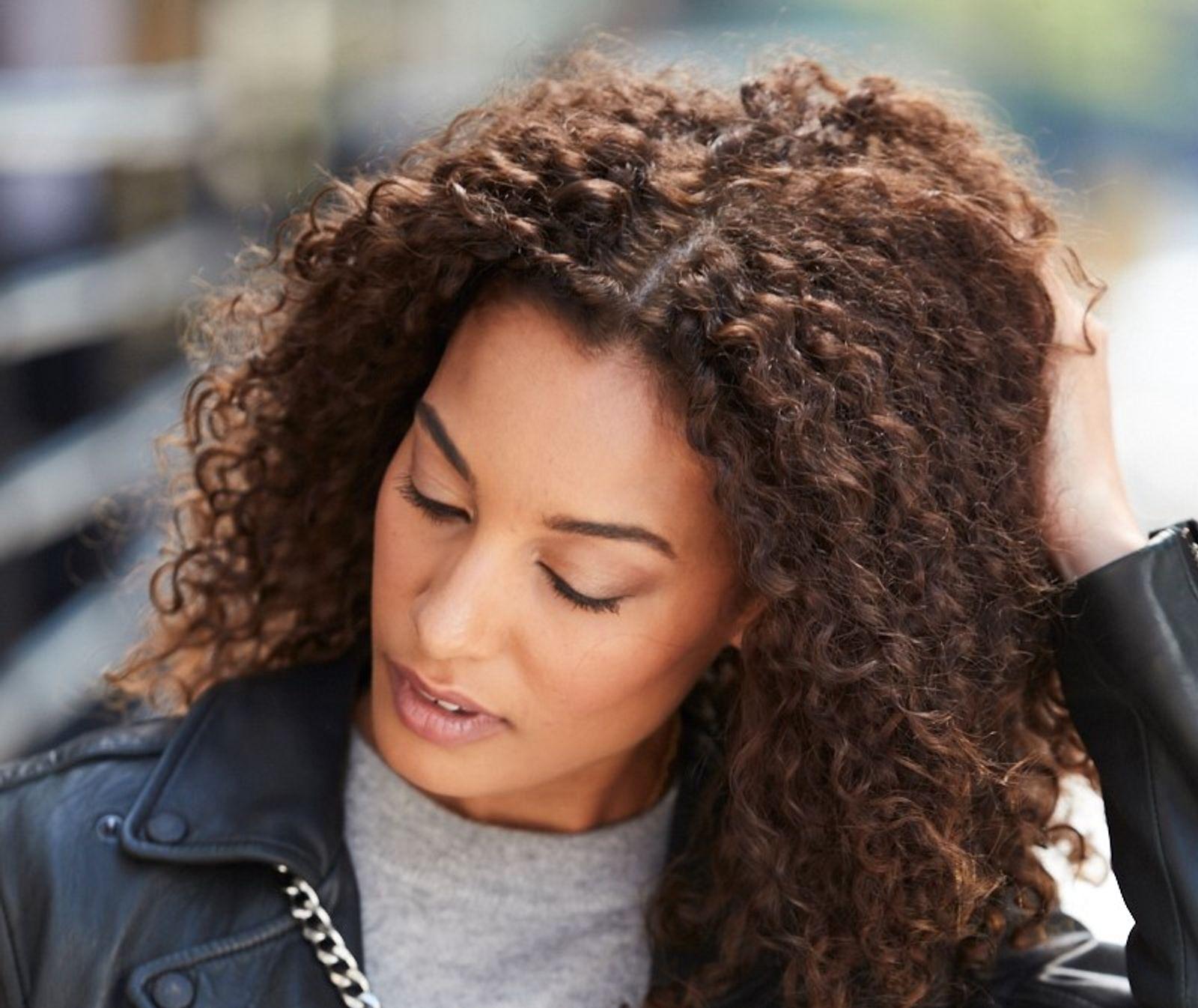Winter Hair Woes Model