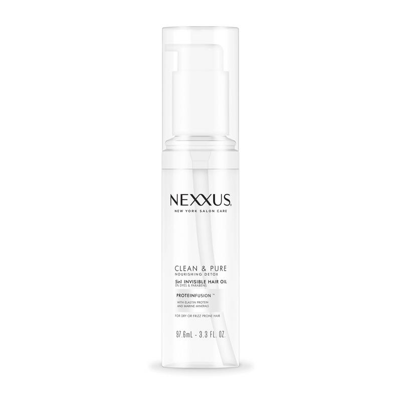 Nexxus Clean & Pure Nourishing Detox 5in1 Invisible Hair Oil - Full-size image