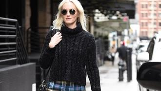 Leighton Meester Walking Down Street