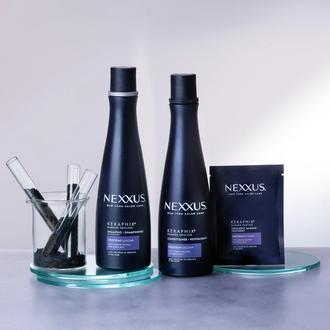 keraphix keratin hair shampoo, keratin conditioner product shot