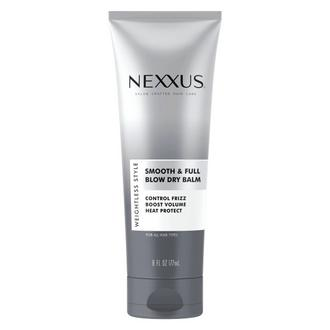nexxus smooth & full blow dry balm front of pack