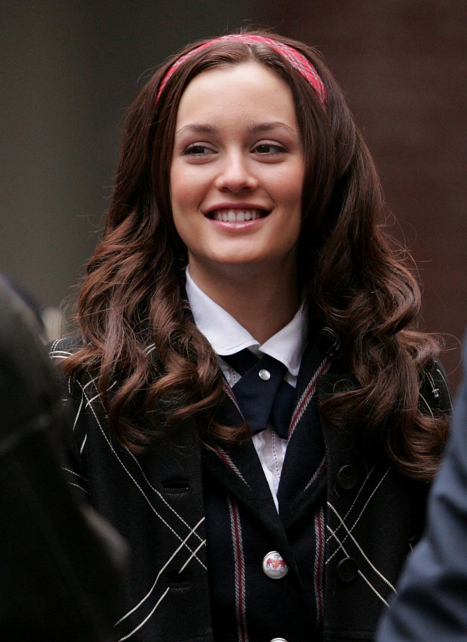 Leighton Brunette for Blair Waldorf Hairstyle