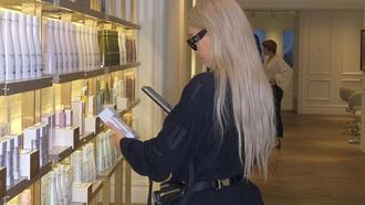 This Is Kim Kardashian West's $20 Secret to Healthy Platinum Hair