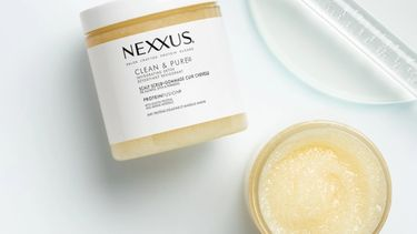 Nexxus clean and pure scalp scrub