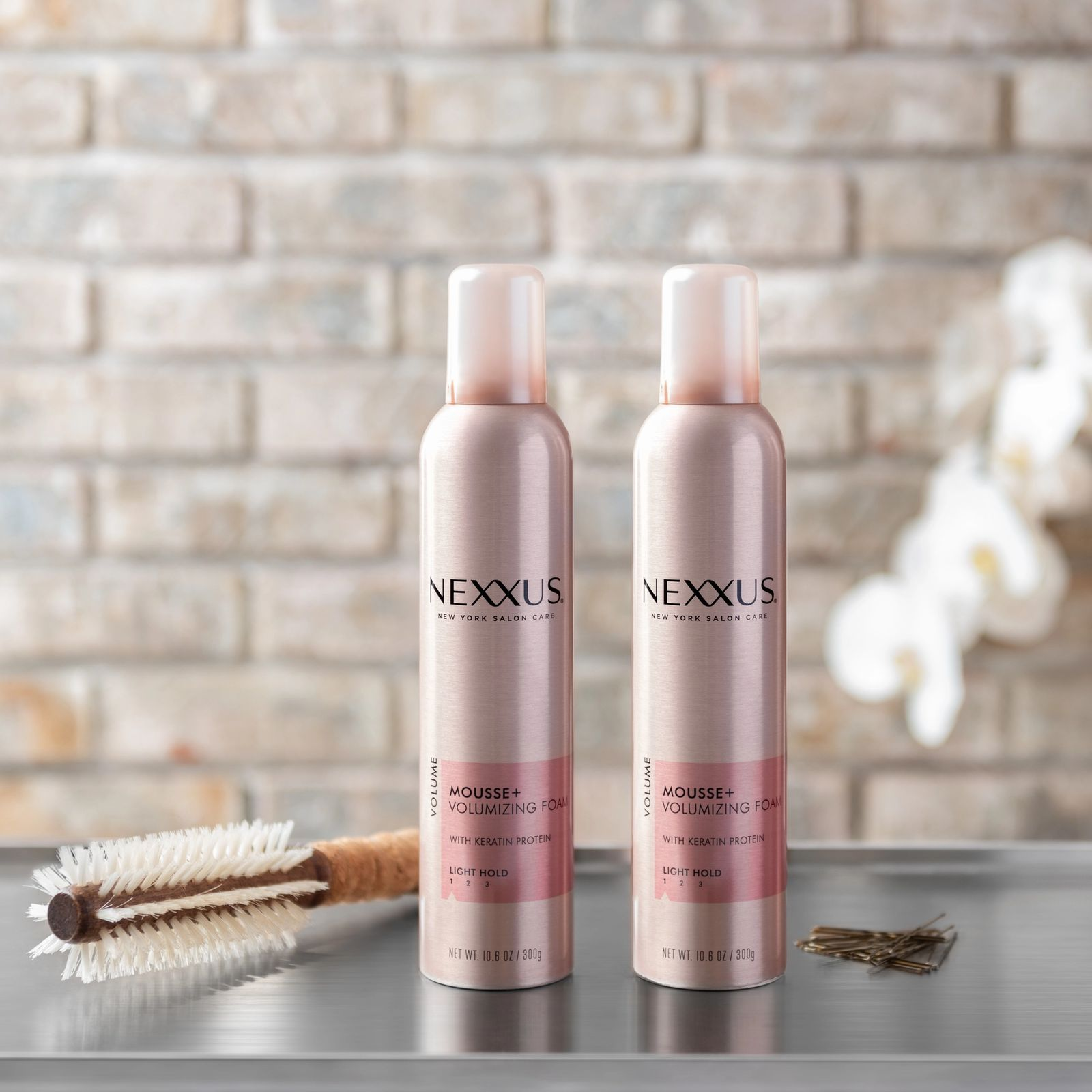Nexxus Mousse Plus Volumizing Foam Product Shot
