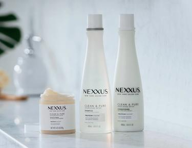 nexxus clean and pure shampoo and conditioner