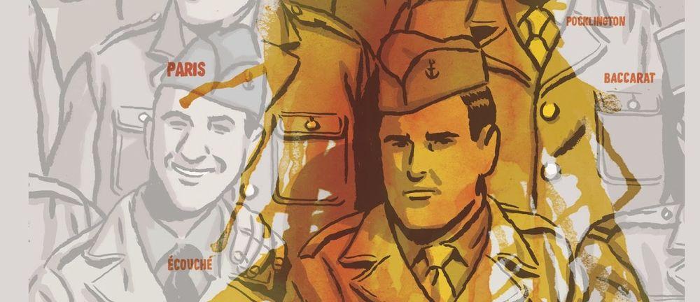 Los surcos del azar, un roman graphique pour la mémoire
