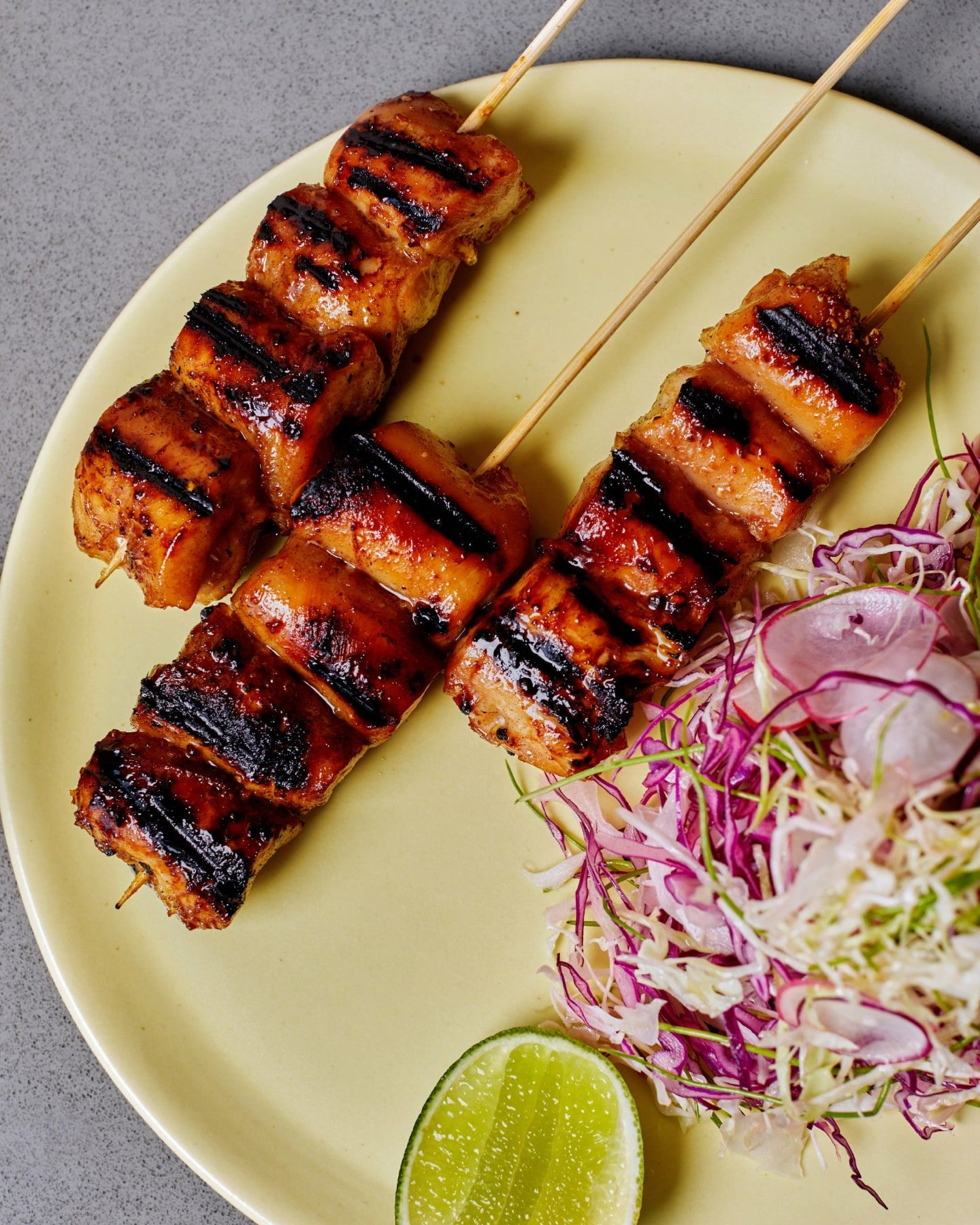 Char Siu Chicken Kebab