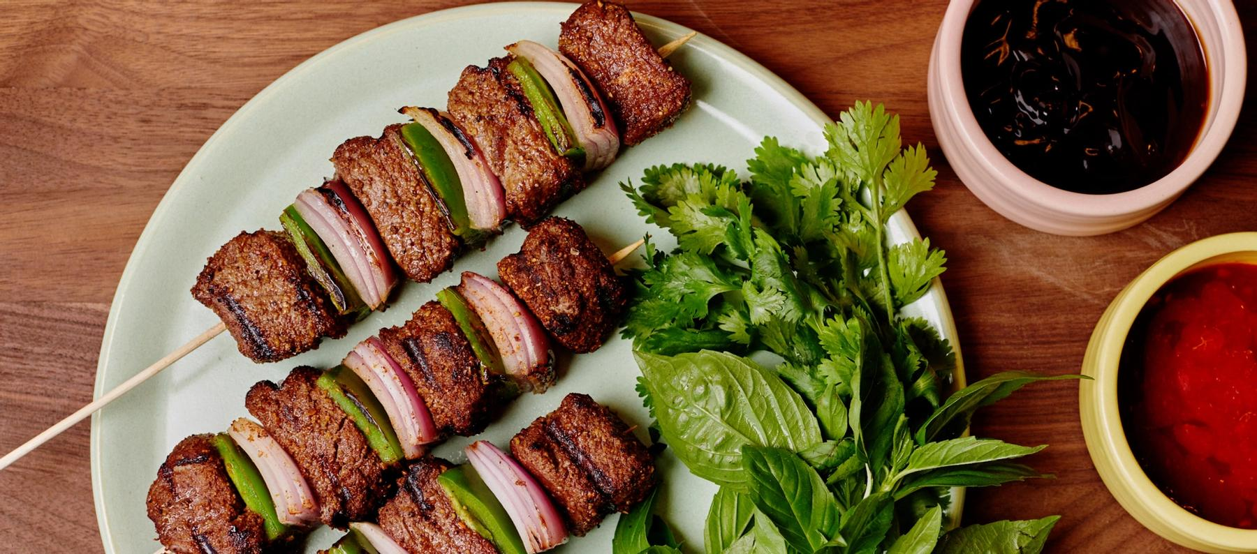Kebabs Four Ways