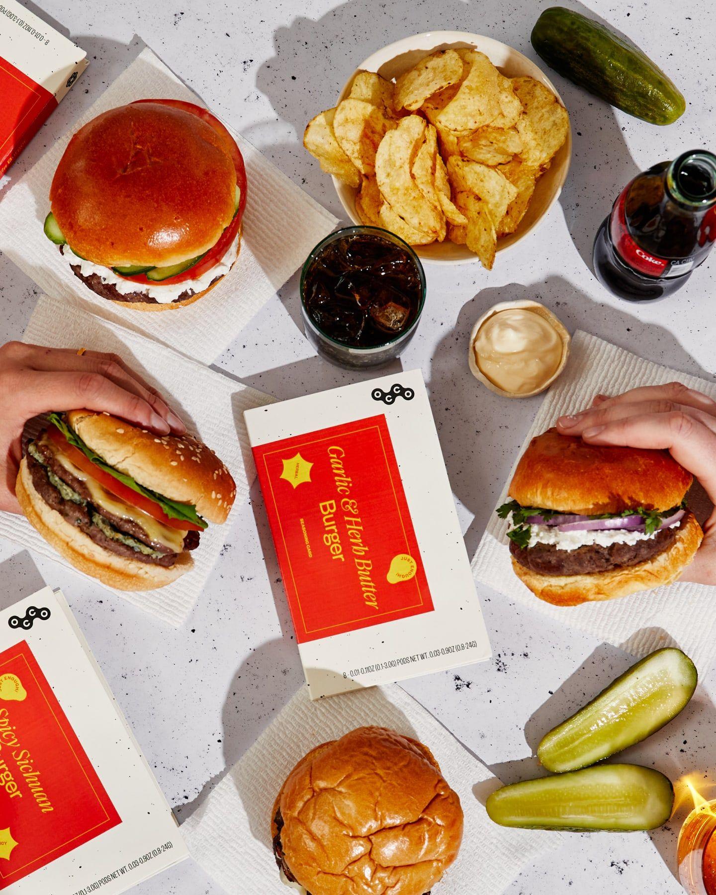 The Burger Sampler