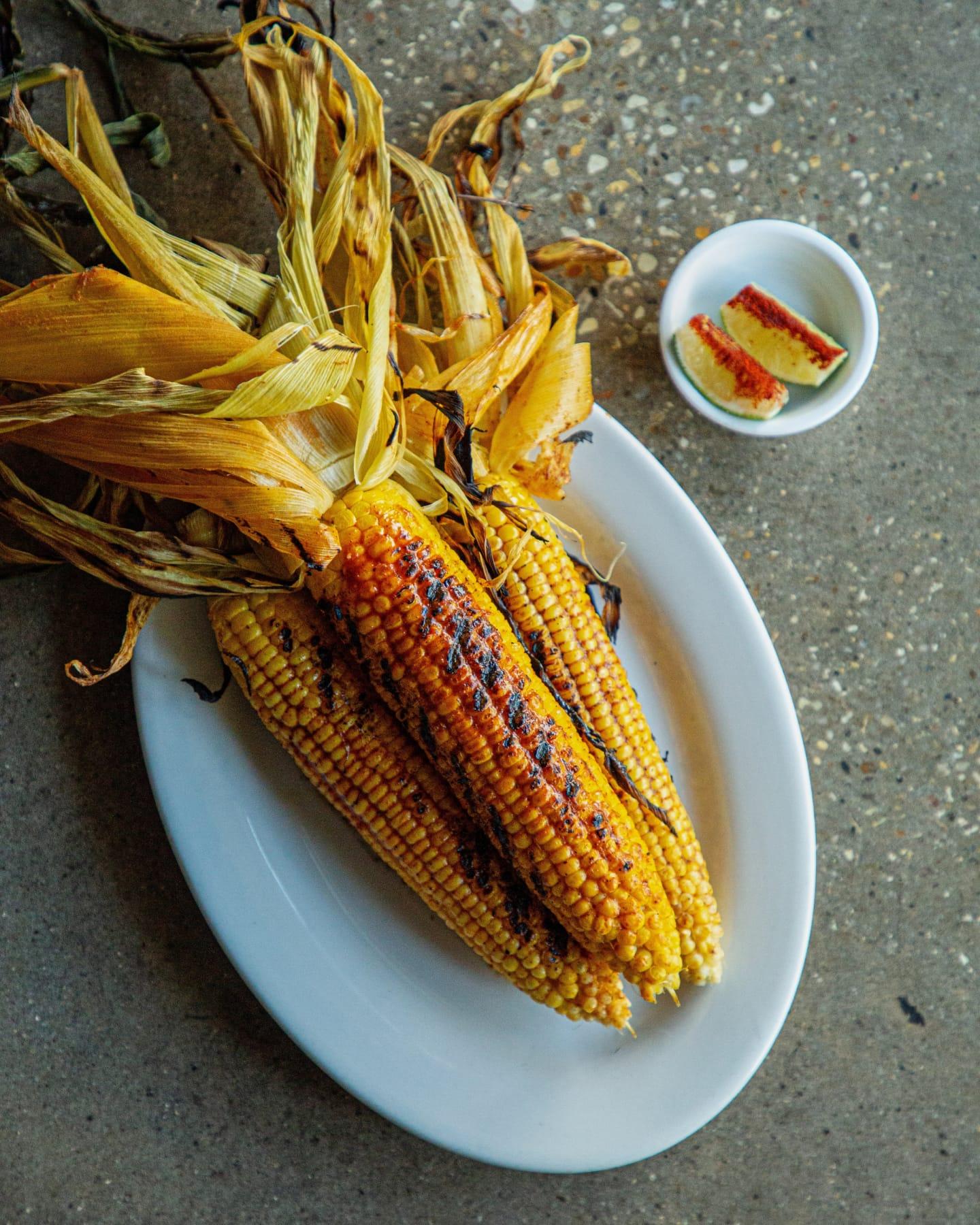 Compère Lapin's Jerk Buttered Corn