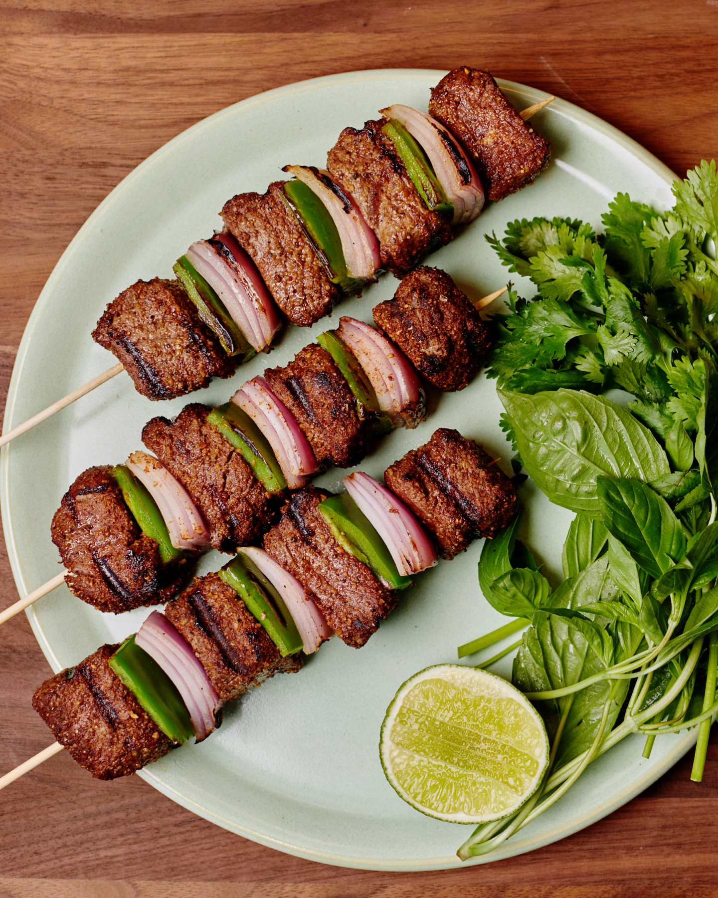 Pho Spiced Beef Shish Kebab