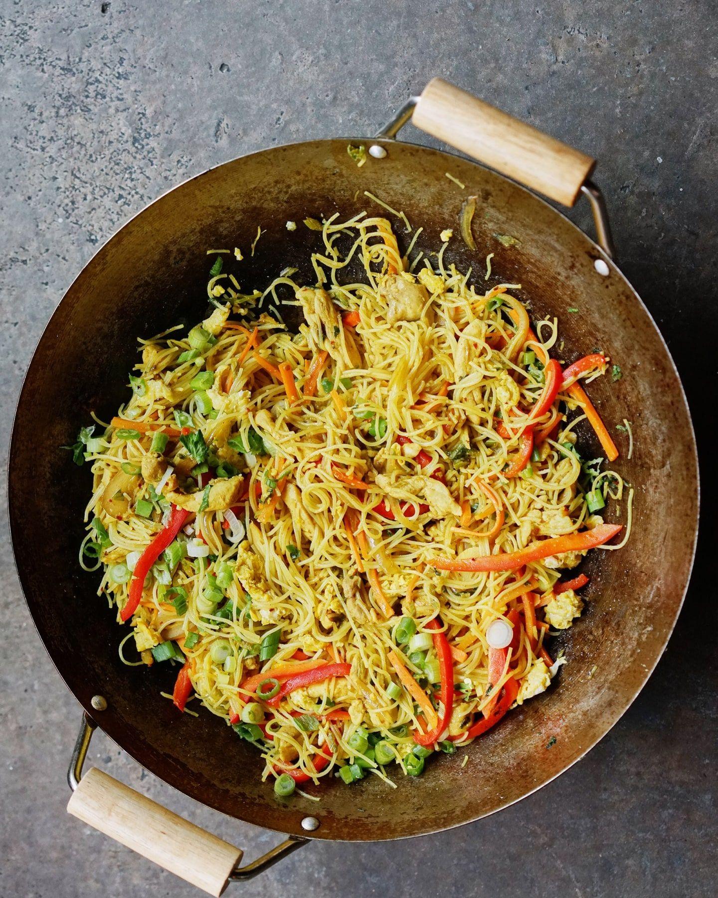 Asha's Singapore Noodles