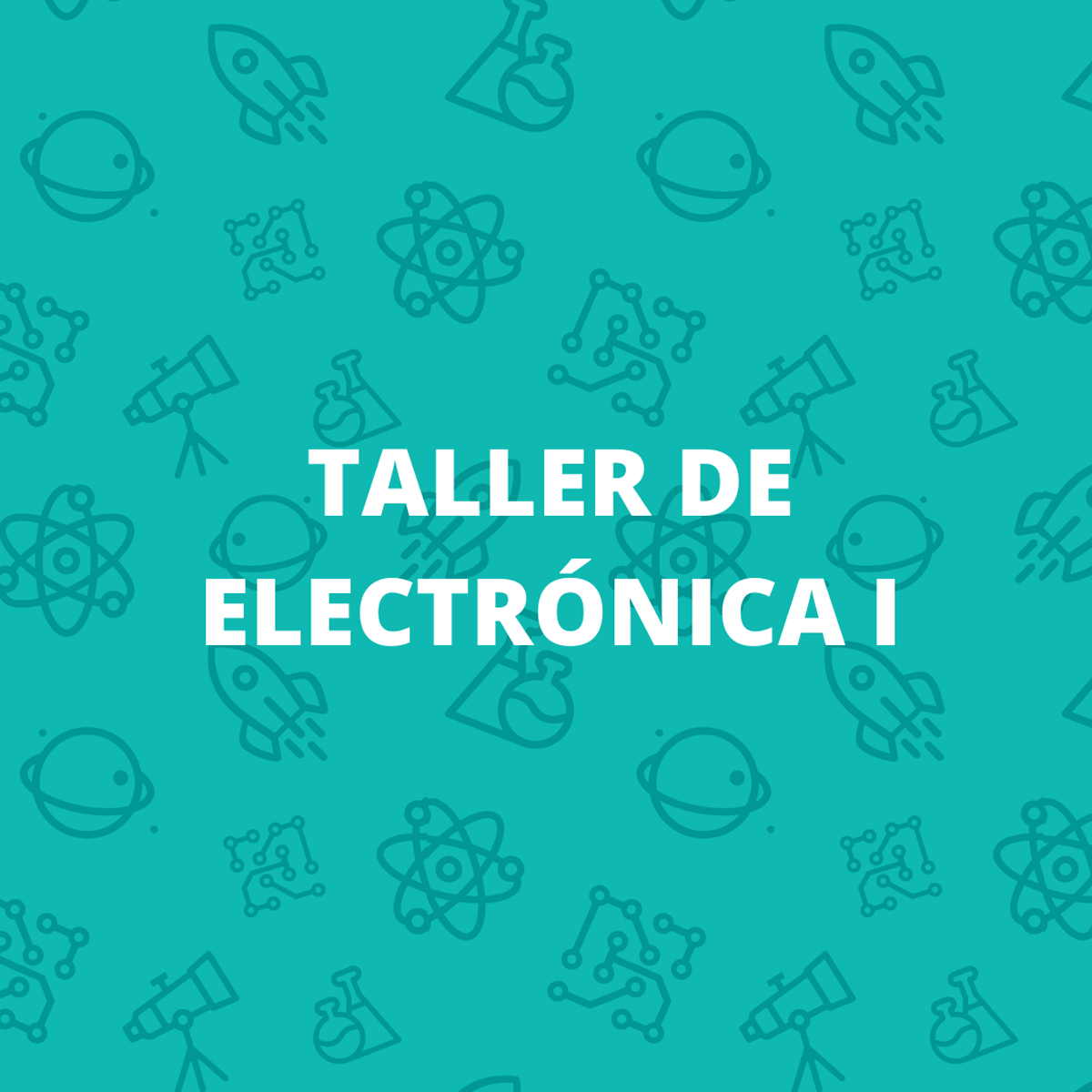 foto Taller de electrónica 1