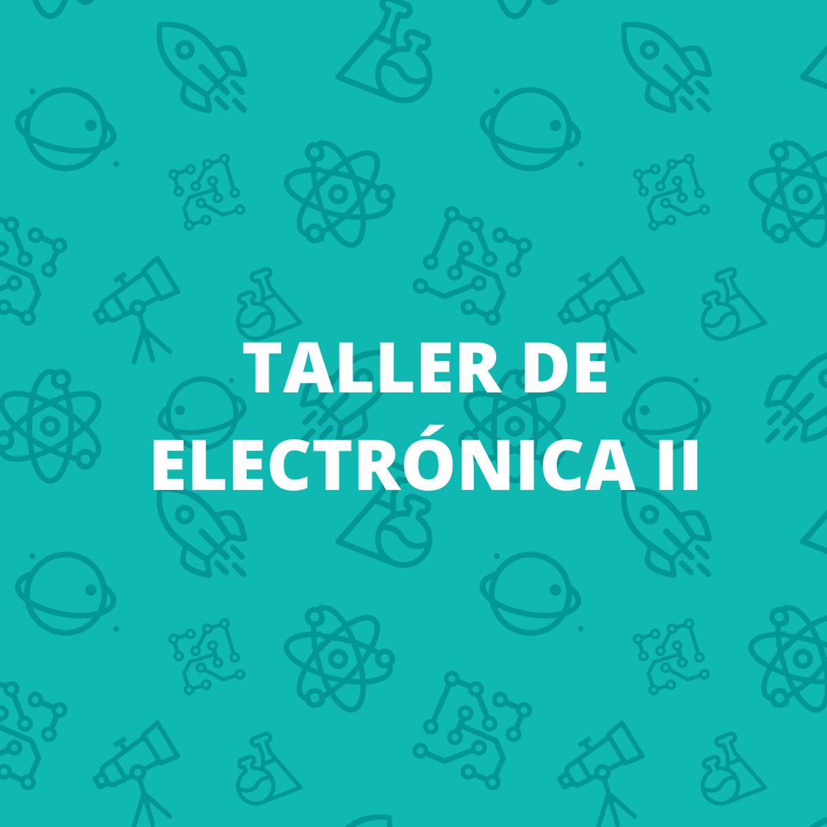 foto Taller de electrónica 2