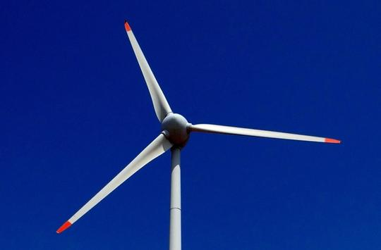 Wind turbine blade GFRP