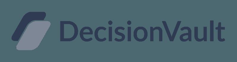 Decision Vault - Full Logo - Dark on Transparant.png