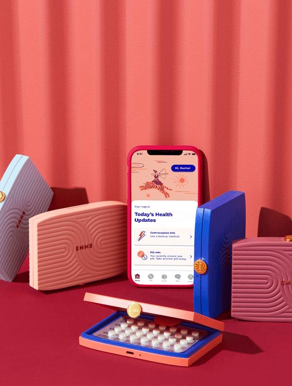 Emme Smart Birth Control Case + App