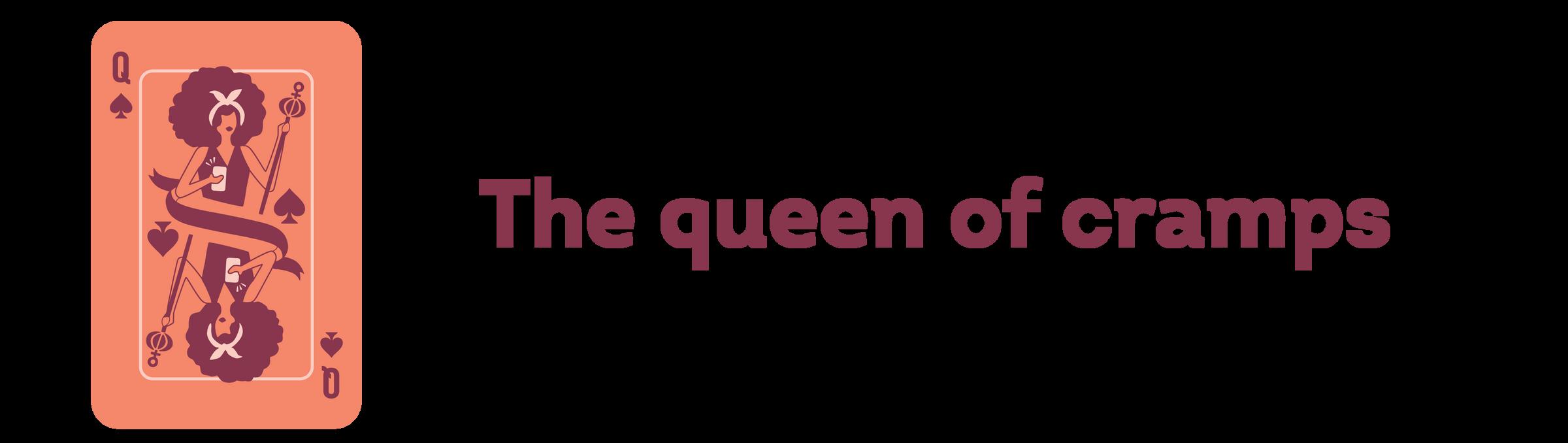 the queen of cramps