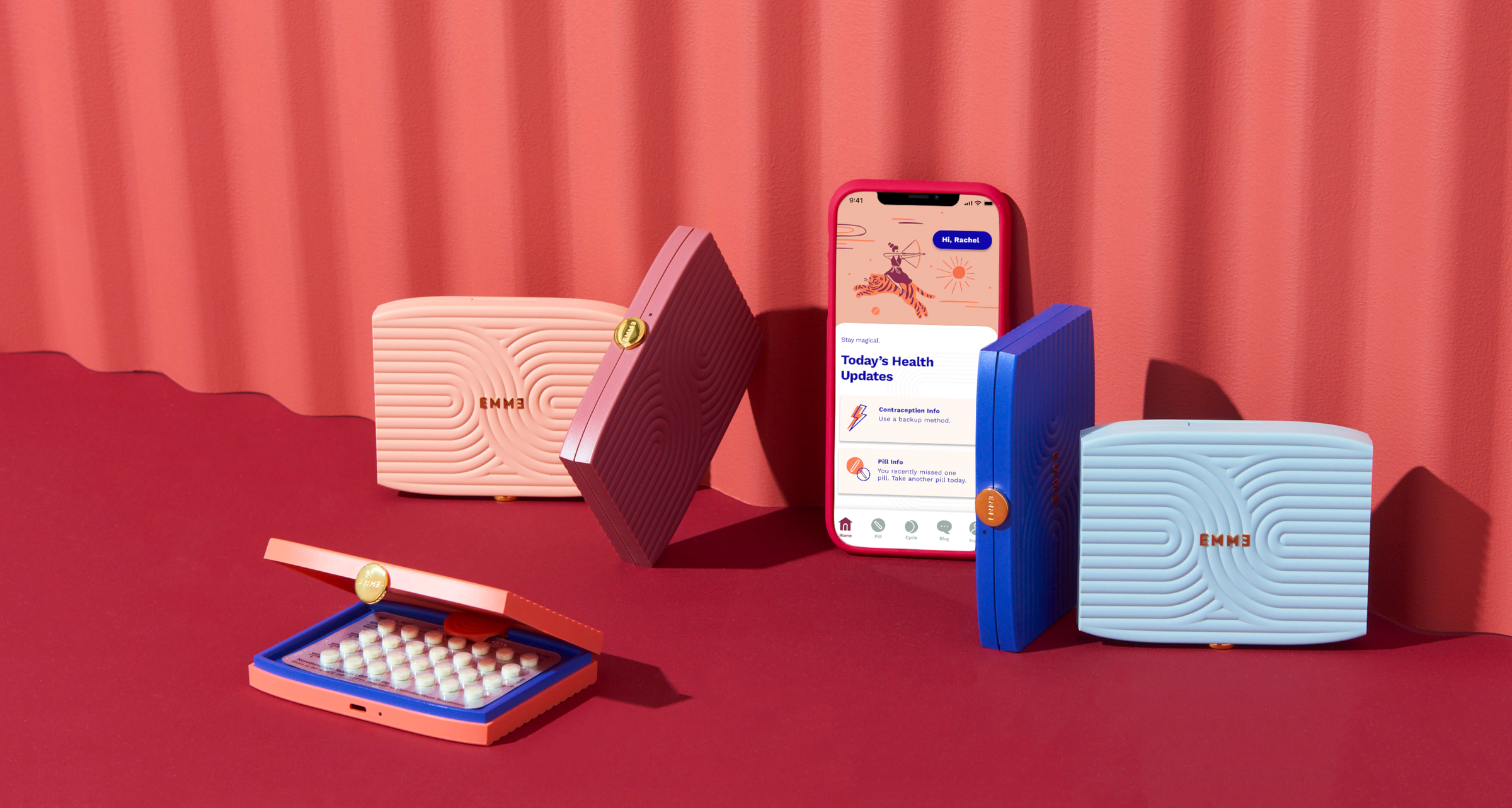 Emme Smart Cases with the Pill & Health Tracker App