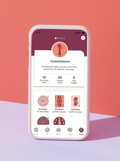 Birth control reminder app