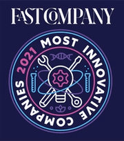 Fast Company 2021 Most Innovative Companies Award Badge