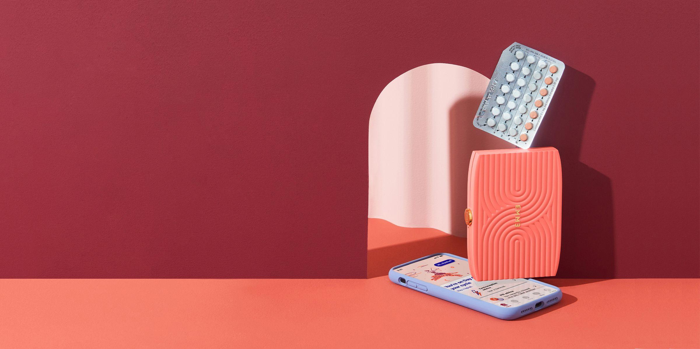 Birth control pack case