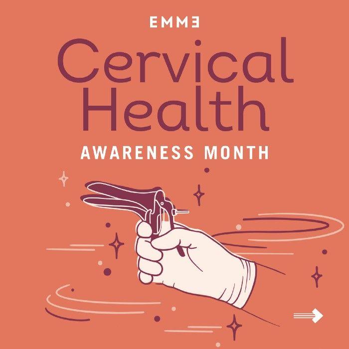 cervical health awareness month illustration