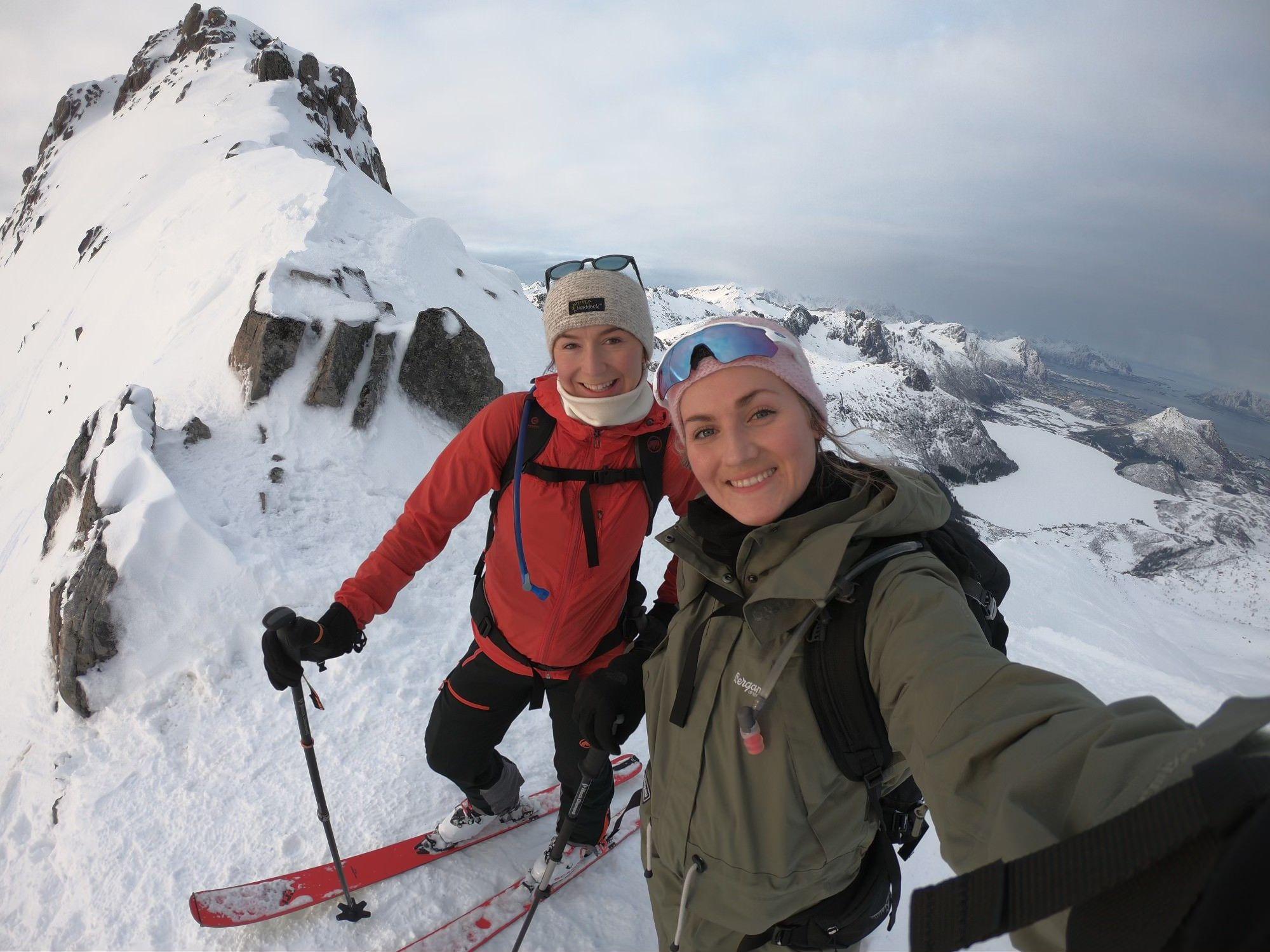 Celin Lund og Anniken Iversen