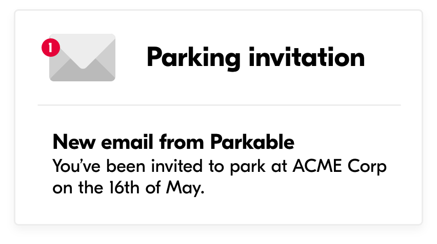 parking-invitation-email