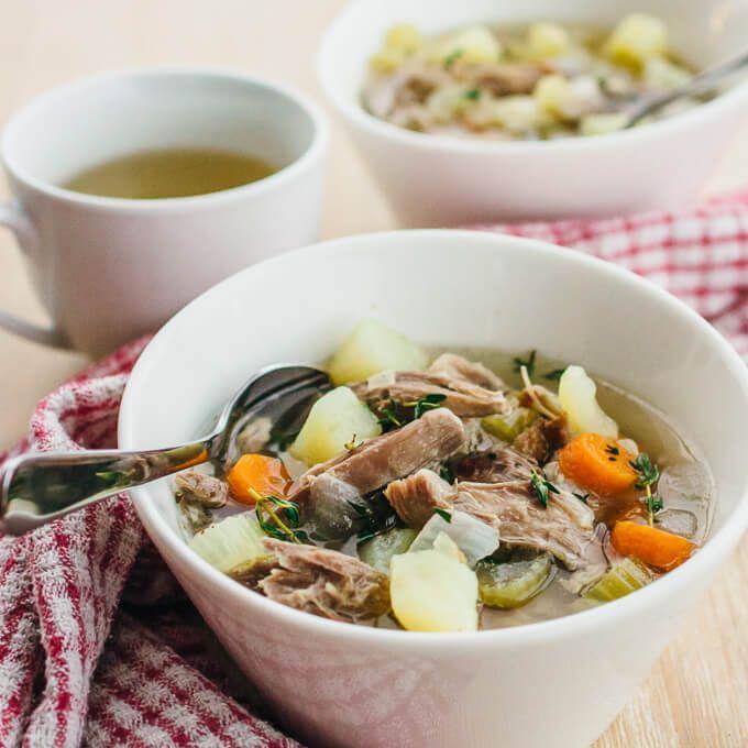 traditional icelandic lamb soup