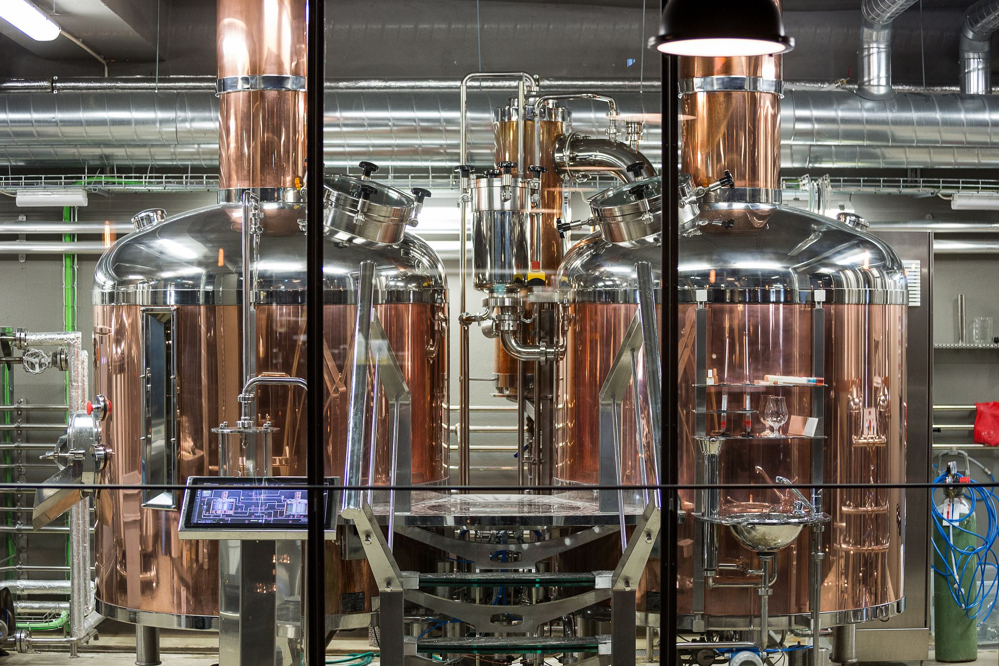 High tech micro-brewing equipment in Reykjavik