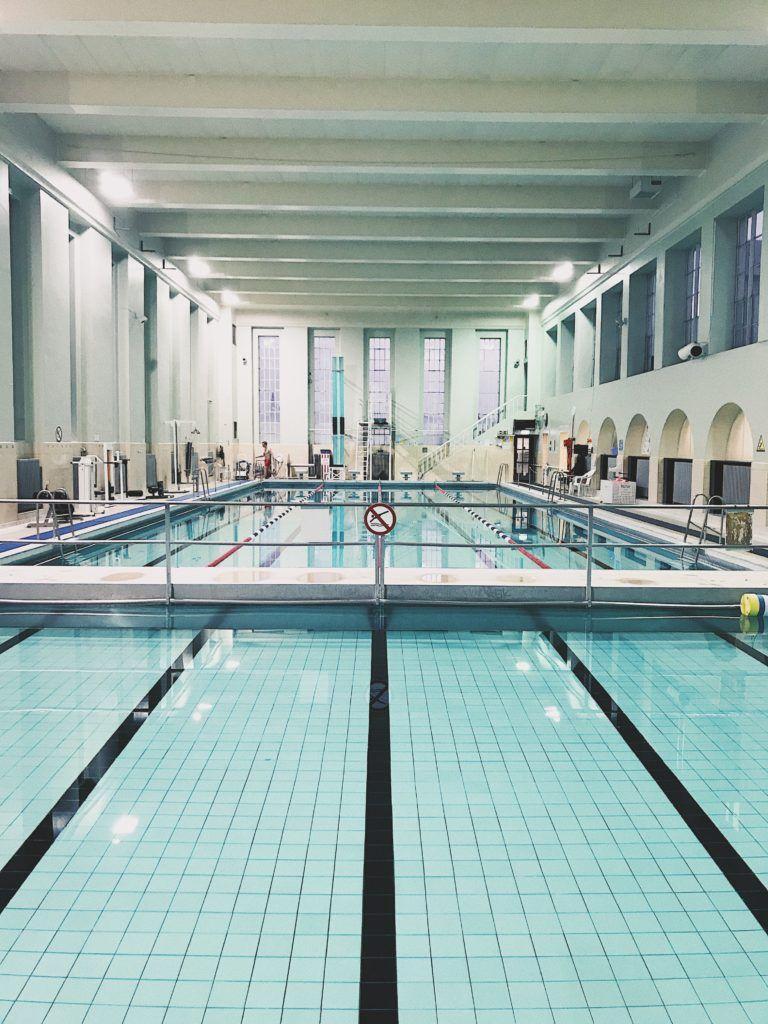 Sundhöll Reykjavikur swimming pool in downtown Reykjavik