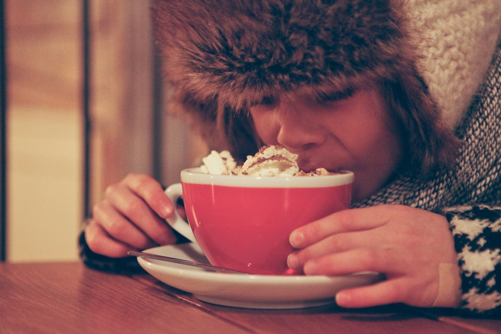 hot coco during christmas in iceland
