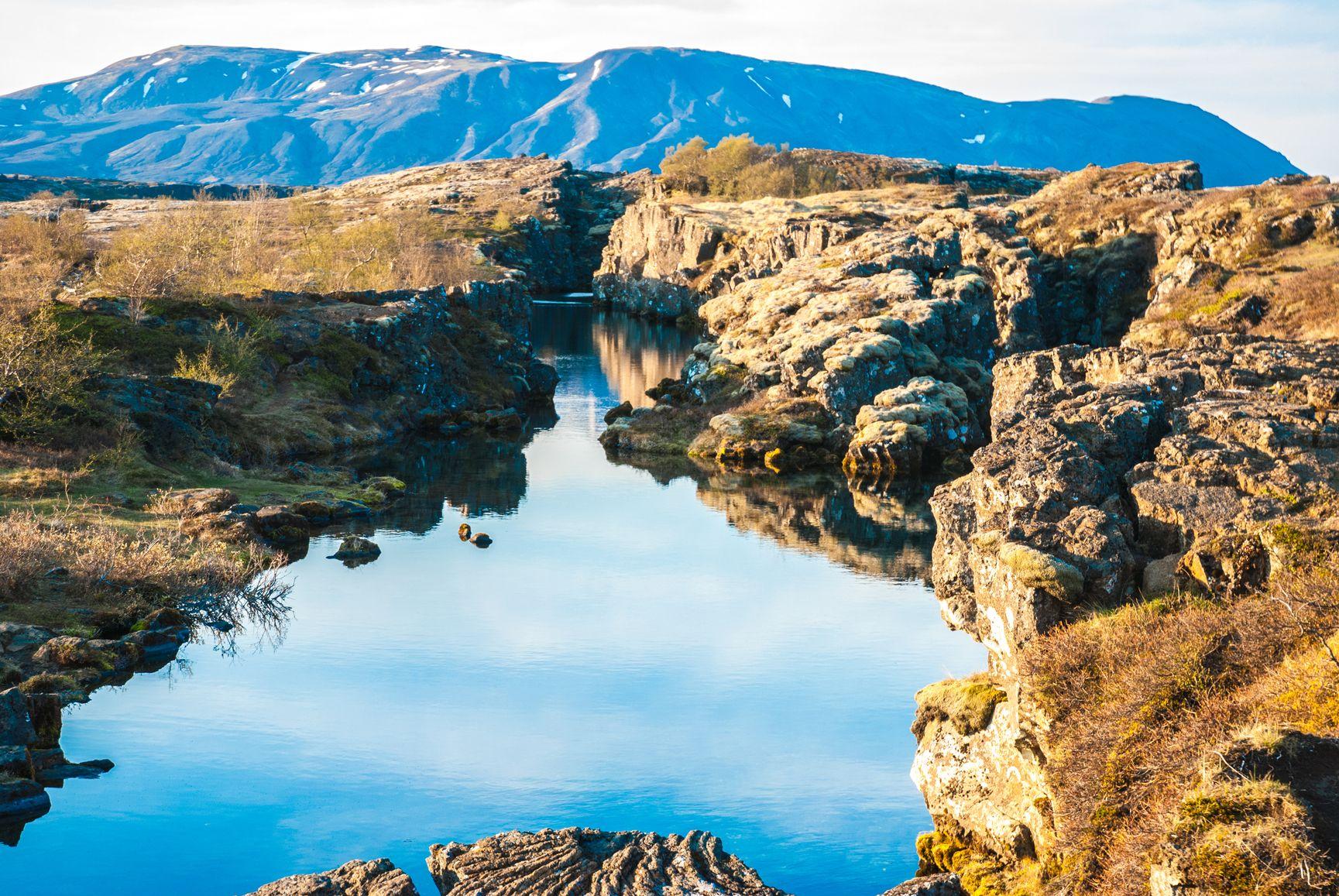 icelandic mountains