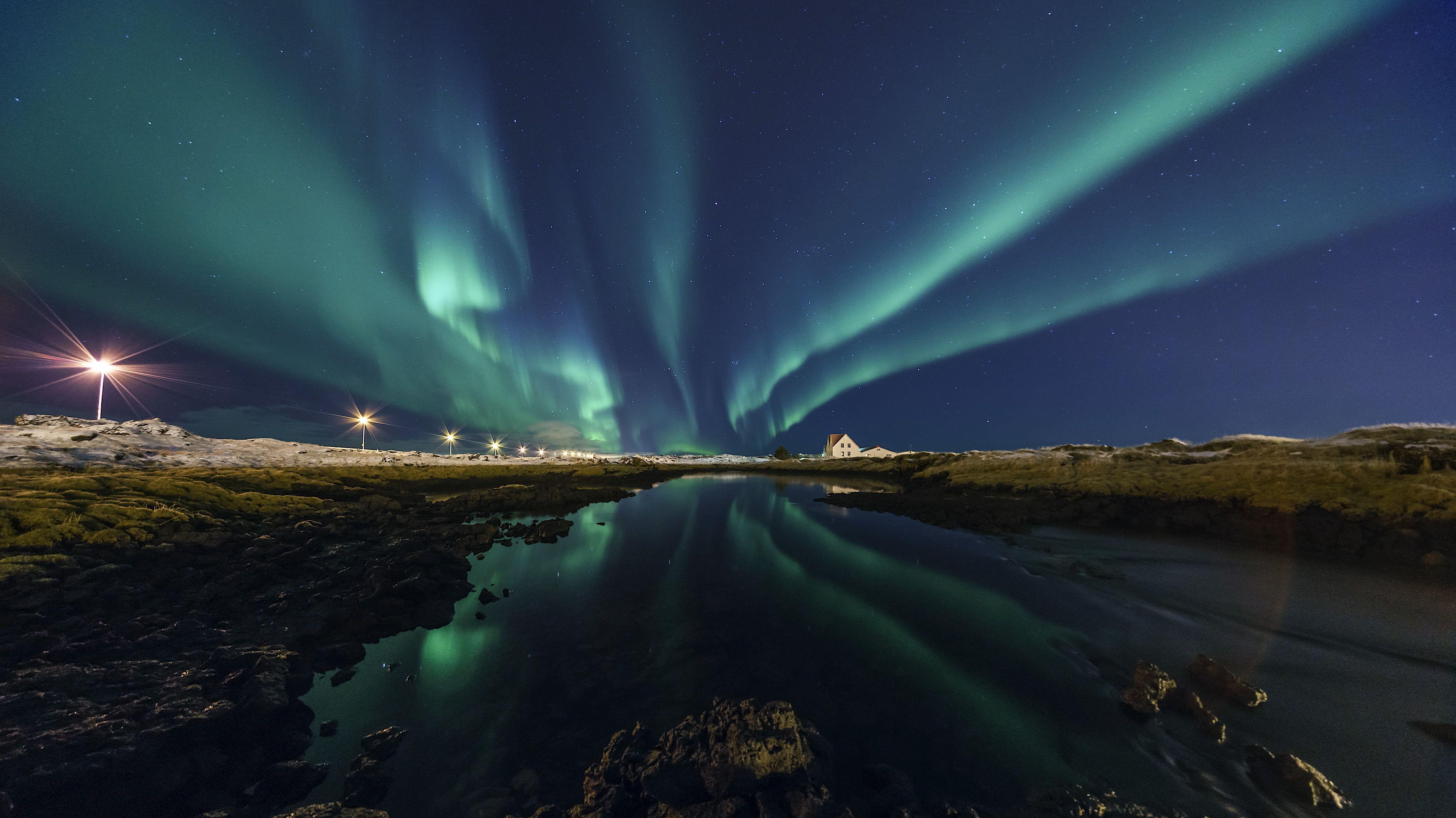 Northern lights tour in December